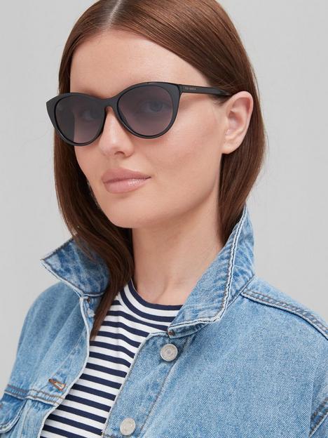 ted-baker-lisbet-round-sunglasses-black