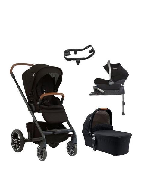 nuna-mixx-stoller-bundle-carry-cot-car-seat-adaptor