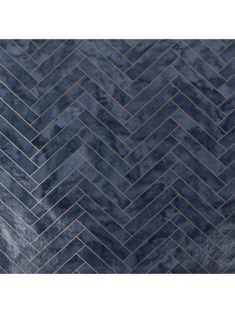contour-marble-chevron-anti-bacterial-wallpaper