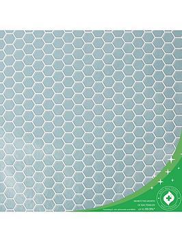 contour-hexagon-lattice-anti-bacterial-wallpaper
