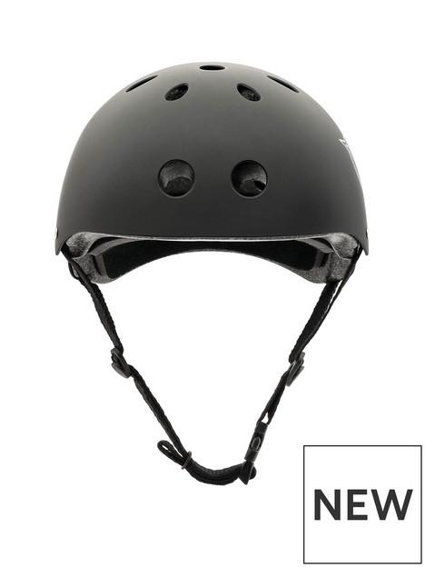 xootz-xootz-unisex-youth-kids-bike-helmet-for-bmx-skateboard-scooter-or-roller-blading-black-medium