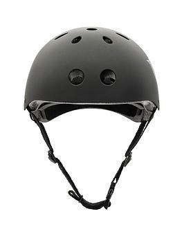 Xootz Xootz Unisex-Youth Kids Bike Helmet For Bmx, Skateboard, Scooter Or Roller Blading, Black, Medium