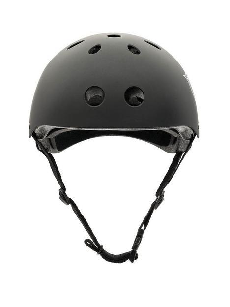 xootz-xootz-unisex-youth-kids-bike-helmet-for-bmx-skateboard-scooter-or-roller-blading-black-small