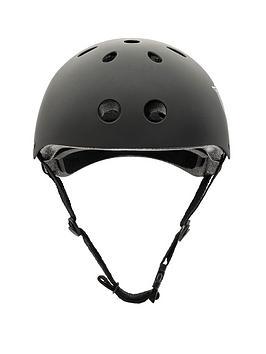 Xootz Xootz Unisex-Youth Kids Bike Helmet For Bmx, Skateboard, Scooter Or Roller Blading, Black, Small