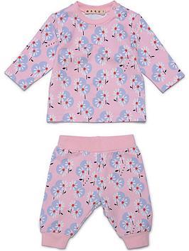 marni-baby-floral-sweat-set-pink