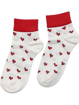 marni-youth-heart-print-socks-white