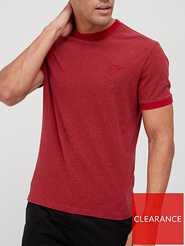 superdry-vintage-ringer-t-shirt-red