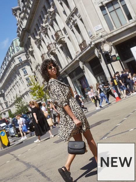v-by-very-collar-detail-mini-dress-leopard