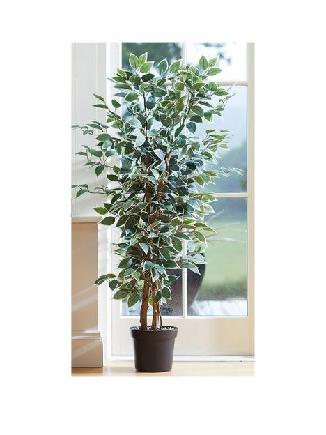 faux-dcor-by-smart-garden-products-weeping-fig-artificial-plant-in-pot