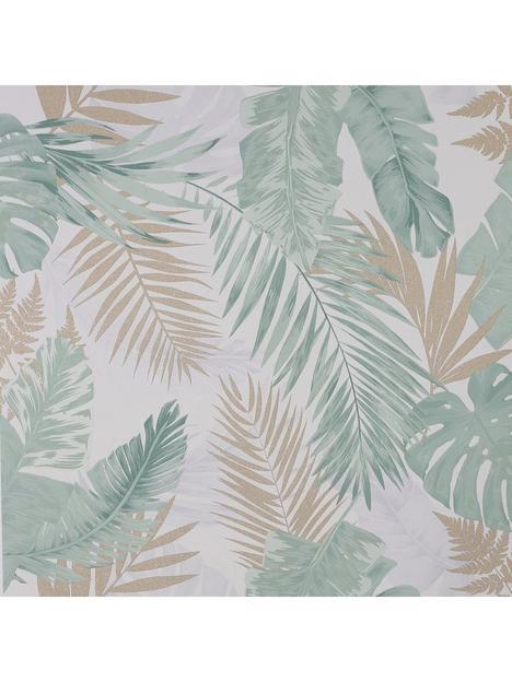 arthouse-soft-tropical-green-wallpaper