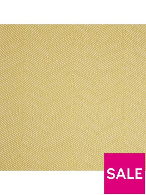 arthouse-arrow-weave-ochre-wallpaper