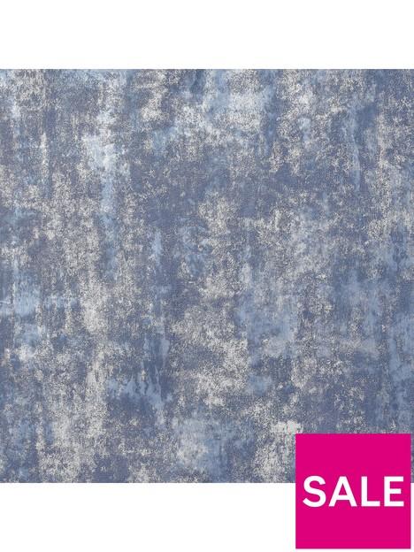 arthouse-arthouse-stone-textures-navysilver-wallpaper