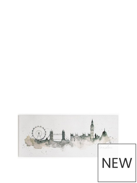 art-for-the-home-london-watercolour-canvas