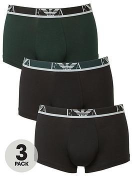 emporio-armani-bodywear-3-pack-eva-stretch-cotton-trunks-black