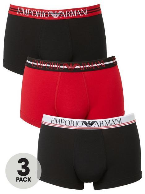 emporio-armani-bodywear-3-pack-mixed-waistband-stretch-cotton-trunks-multi