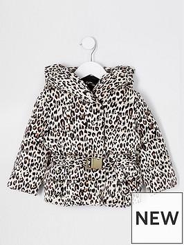 river-island-mini-mini-girls-leopard-padded-coat-beige