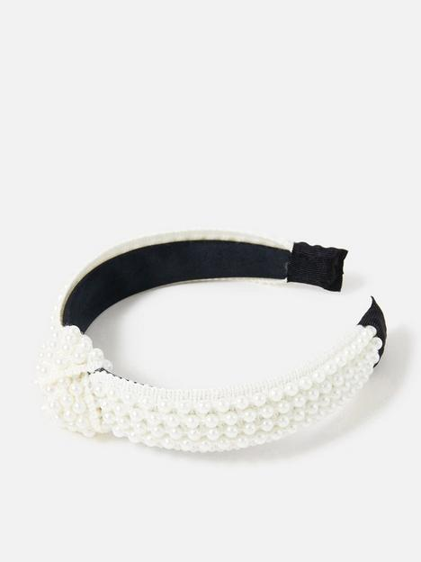 accessorize-pearl-knot-alice-band