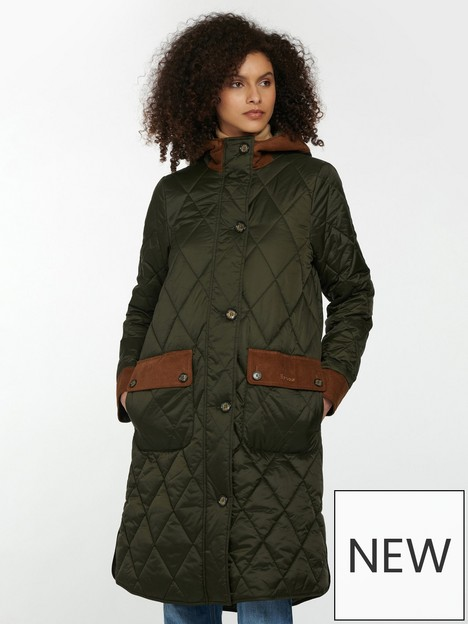 barbour-barbour-mickley-contrast-cord-trim-quilted-coat-green