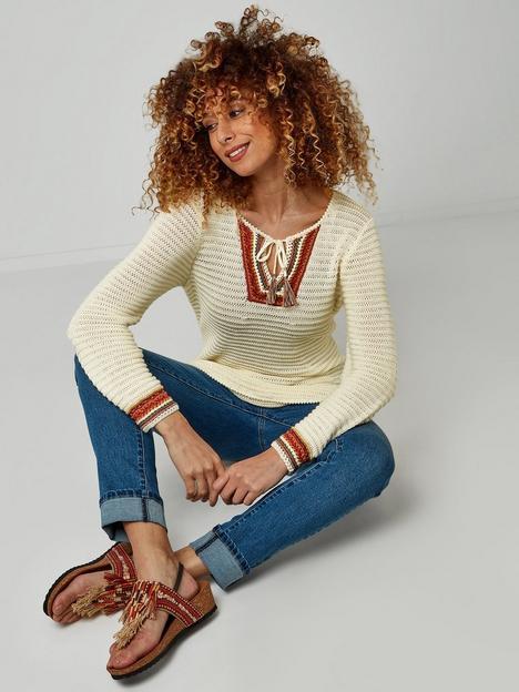 joe-browns-boho-knit--nbspwhite