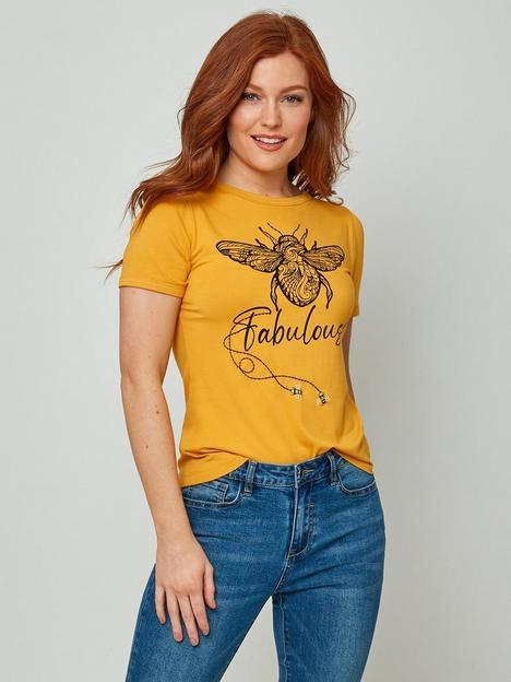 joe-browns-bee-fabulous-t-shirt--nbspyellow