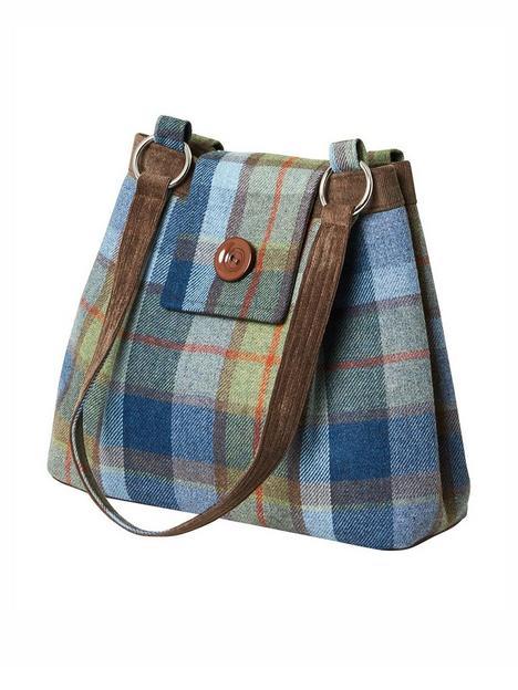 joe-browns-tweedy-vintage-ava-bag-green-multi