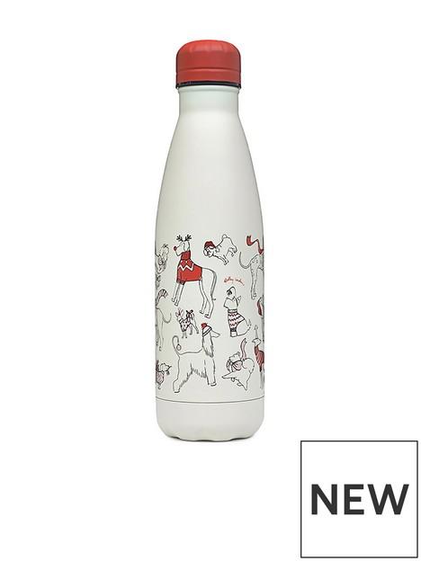 radley-christmas-dogs-water-bottle-chalk