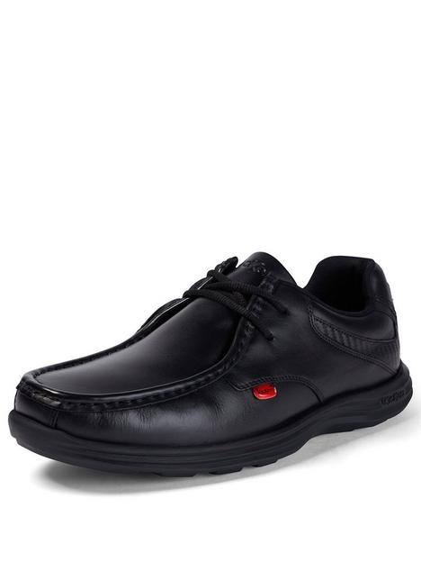 kickers-reasan-lace-up-leather-shoes-black
