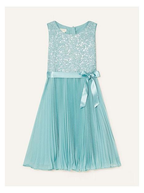 monsoon-girls-sequin-keita-pleat-dress-mint