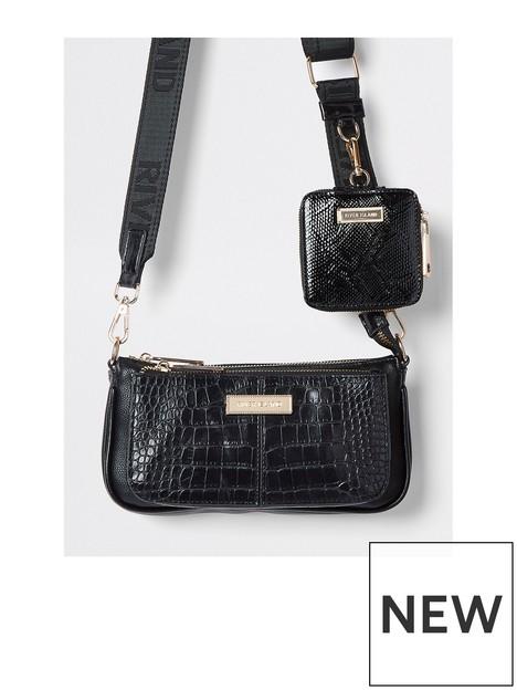 river-island-croc-double-pouchette-bag-black