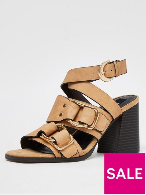 river-island-buckle-block-sandal-beige