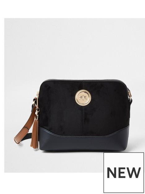 river-island-double-comp-cross-body-bag-black