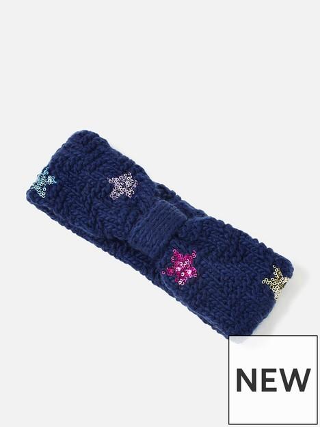 accessorize-girls-star-headband-navy