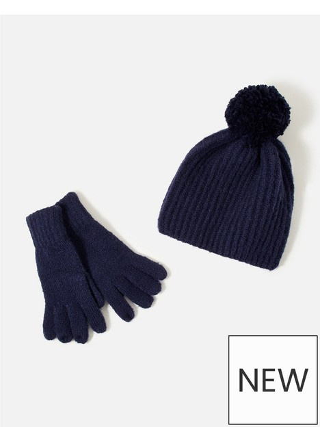 accessorize-girls-glove-and-hat-set-navy