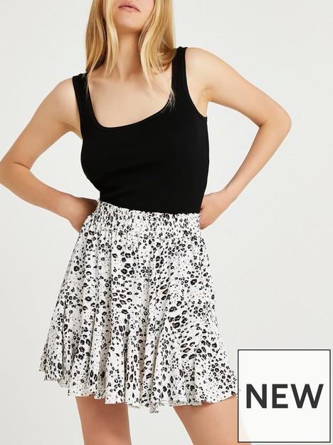 river-island-leopard-print-mini-skirt-brown