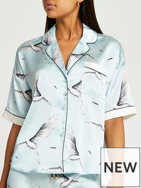 river-island-satin-bird-print-shirt-blue