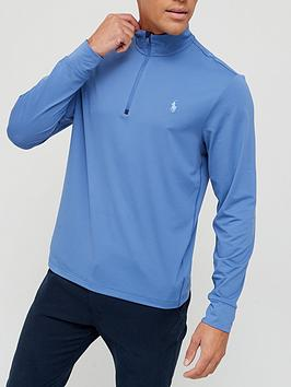 ralph-lauren-golf-stretch-12-zip-pullover-blue
