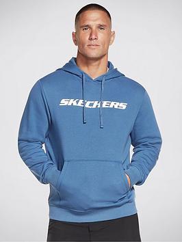 skechers-heritage-knit-pullover-hoodie-true-navy