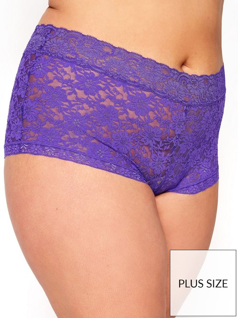 yours-yoursnbsphelanka-lace-shorts-purple