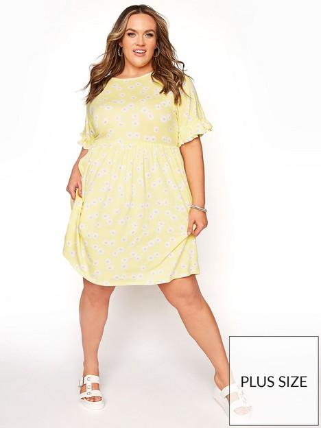 yours-yours-limited-yours-epp-floral-dress-lemon