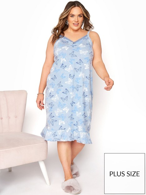 yours-clothing-summer-butterfly-pj-set