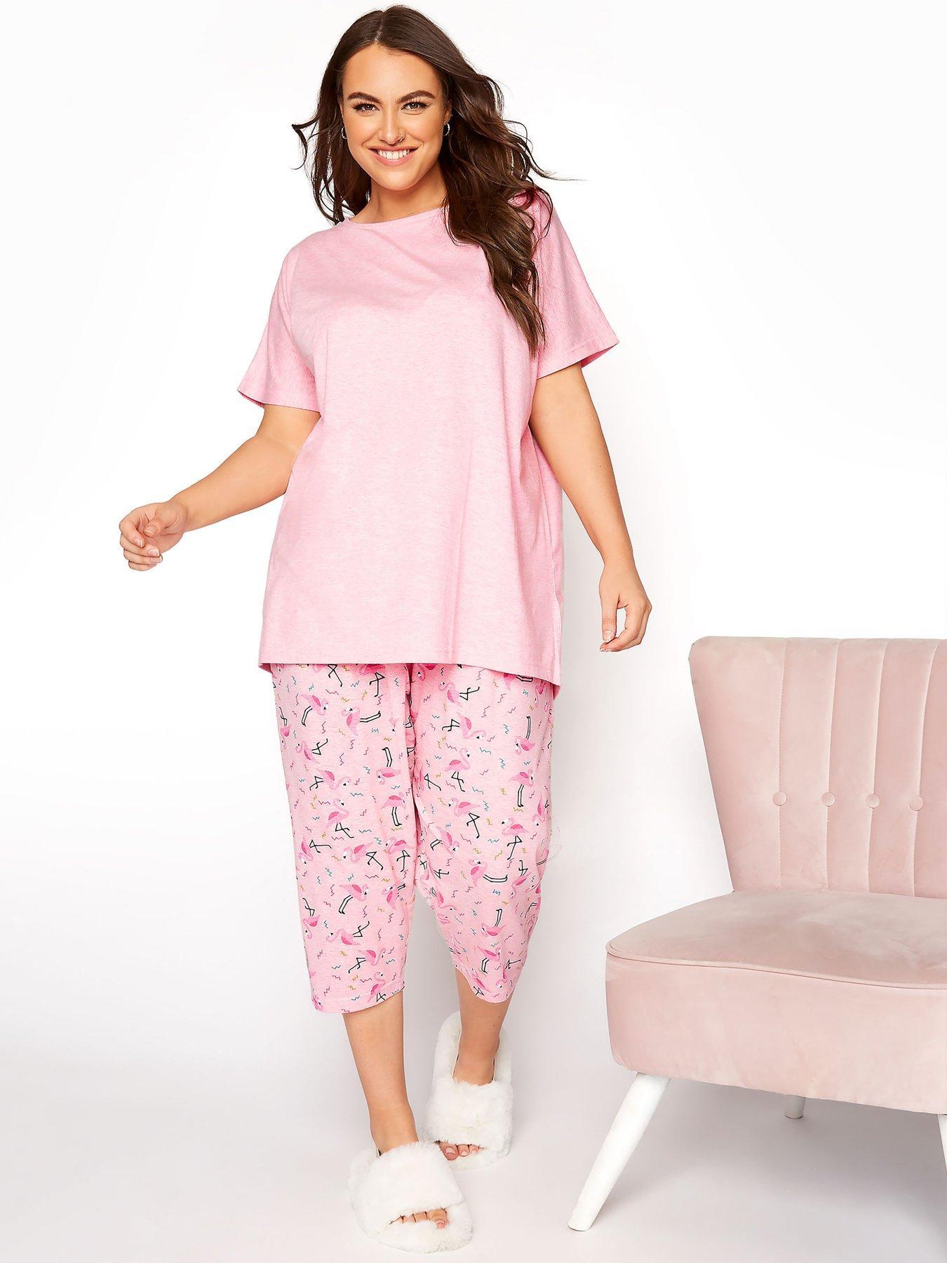 Details about  /Ladies Short Sleeve Pyjama Set 100/% Cotton Womens Cosy Teddy Nightwear PJ Set