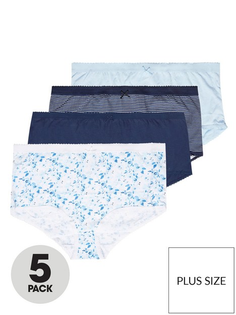 yours-yours-5-pack-full-briefs-blue