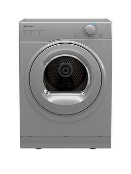 Indesit I1 D80S Uk 8Kg Load Freestanding Vented Tumble Dryer
