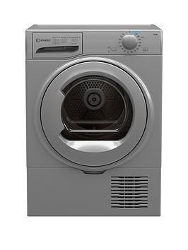 Indesit I2D81Suk 8Kg Freestanding Condenser Tumble Dryer