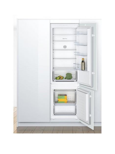 bosch-serie-2-kiv87nsf0g-integrated-7030-fridge-freezer-with-sliding-door-fixing-kit-white-f-rated