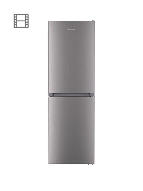 hotpoint-htfc8-50ti1-x-1-60cm-freestanding-fridge-freezer