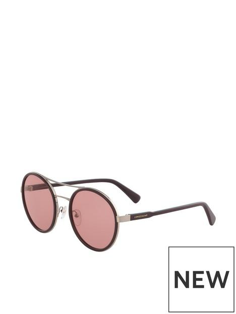 longchamp-round-sunglasses-chocolate