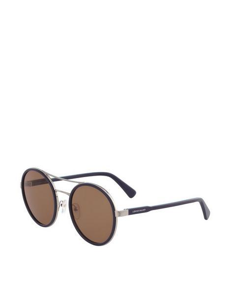 longchamp-round-sunglasses-blue