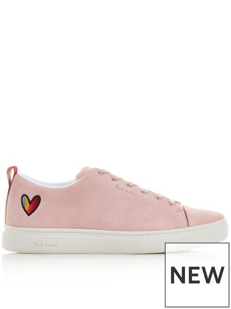 paul-by-paul-smith-leenbspsuede-heartnbsptrainers-pink