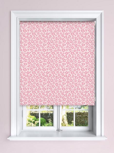 pink-leopard-printed-blackout-roller-blind
